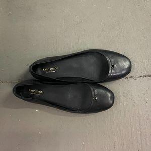 Women's Sz 8 KATE SPADE Black Ballet Flat
